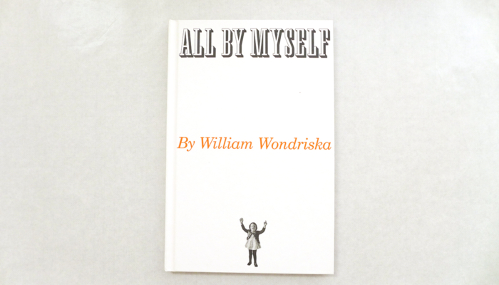 """A picture book or a photo book: """"All by myself"""""""